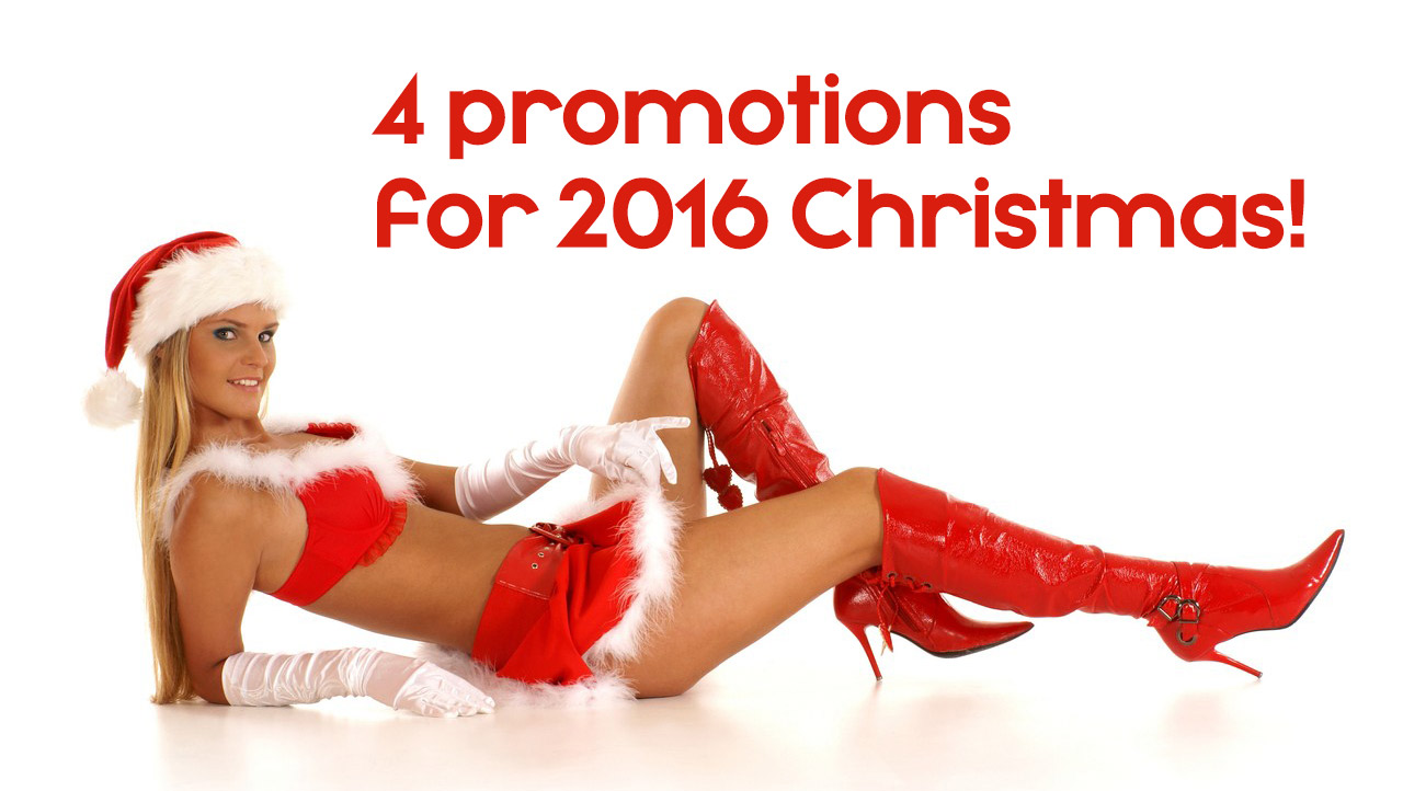 Holidays Winter Promotions - Dec 12th - Jan 12th 2017