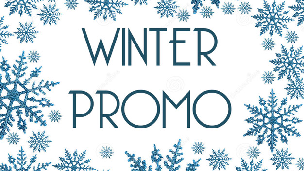 Winter Promotion 19th of December 2019 - 11th of January 2020